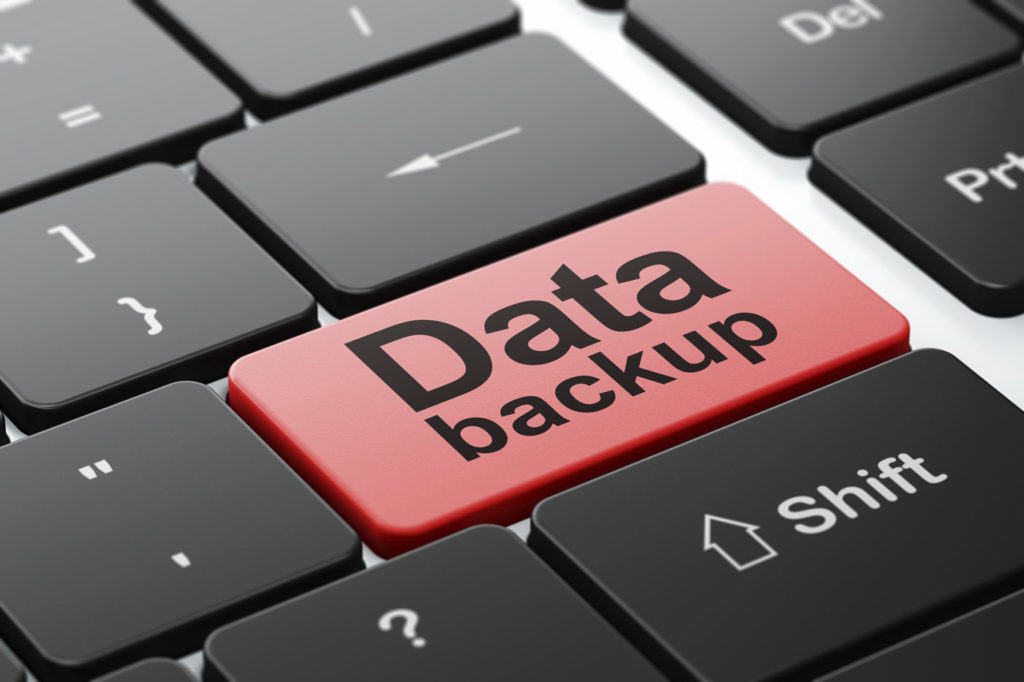 Data backup and restore sop