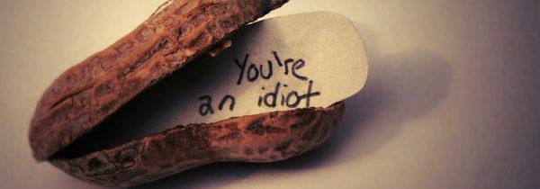 Не будьте идиотами!