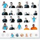 Собственный брендовый набор стикеров Telegram