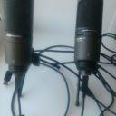 Распаковка микрофона AT2020 USB Plus
