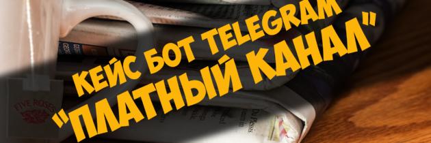 Кейс бот Telegram — Платный канал