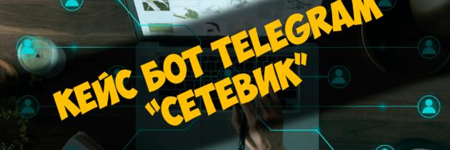 Кейс бот Telegram — «Сетевик»